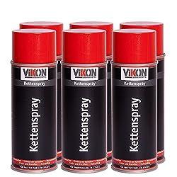6 Dosen VIKON Kettenspray 400 ml