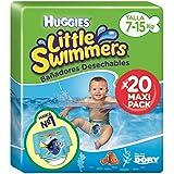 Huggies Little Swimmers - Bañadores desechables, talla 3-4 (7-15 kg), 20 unidades