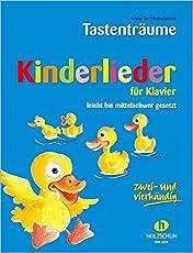 Kinderlieder für Klavier: leicht bis mittelschwer gesetzt, zwei- und vierhändig