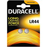 Duracell Specialty Typ LR44 Alkaline Knopfbatterie, 2er Pack
