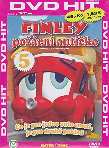 Finley - Co je pro jedno auto smeti, ... (Finley the Fire Engine DVD 5) [paper sleeve]