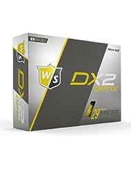 WILSON Herren Dx2 Optix, Golfbälle, 12er Pack
