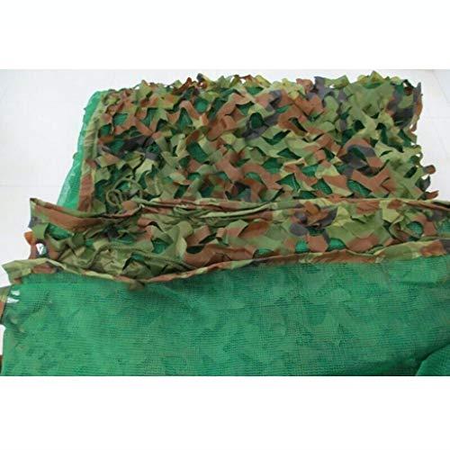Plane FJZ Sonnenschutznetz Camouflage Sonnenschutz Isolierung Sonnenschutz Verschlüsselung Garten Balkon Carport Kühlung Insektensicheres dreischichtiges Outdoor-Dschungel-Verdickungs-Tarnnetz Markise