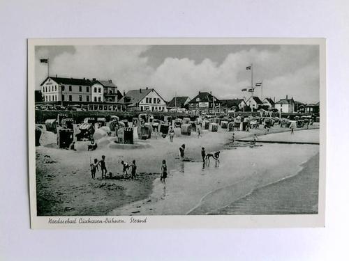 1 Postkarte: Nordseebad Cuxhaven-Duhnen. Strand