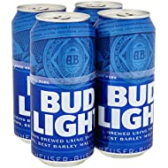 Bud Light Beer Can, 4x440 ml can - Delivered Chilled