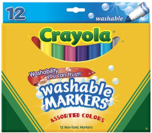 Crayola Broad Line Washable Markers Tan Chaps