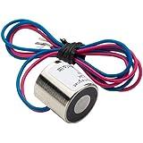sourcingmap® 10N 12V DC 0.02LB/8g électro-aimant aimant levage électrique Solénoïde levage tenue