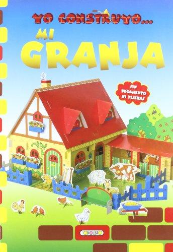 Mi granja, yo construyo. (Construcciones de papel) por Equipo Todolibro