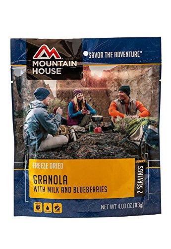 Mountain House Müsli mit Milch und Heidelbeeren, Unisex, einfarbig