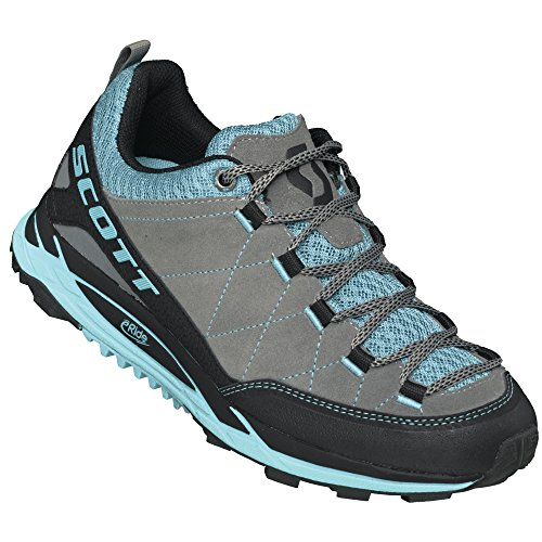 Scott Damen Trail Laufschuh W's eRide RockCrawler yellow/pink Grey/Blue