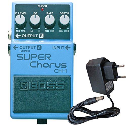 Boss CH-1 Super Chorus Stereo + keepdrum Netzteil 9V