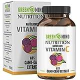 Camu-Camu Kapseln - 250 mg natürliches Vitamin C pro Kapsel - 120 Kapseln - vegan - ohne unerwünschte Zusätze - vom deutschen Hersteller Green Mind Nutrition