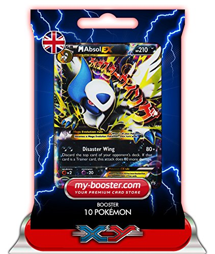 MEGA ABSOL EX XY63 (PROMO) 210HP XY06 - Booster de 10 cartes Pokemon anglaises my-booster