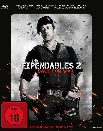 The Expendables 2 - Back for War (Limited Uncut Hero Pack) [Blu-ray]