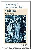 Le concept de monde chez Heidegger