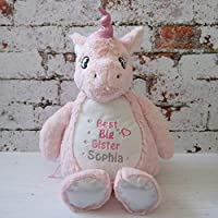 Best Big Sister - Personalised Unicorn - New Sister gift
