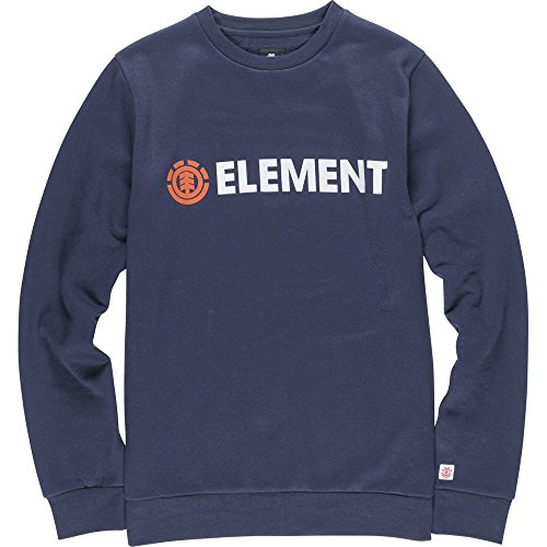 Element Herren Pullover Sweatshirt Blazin Crew Neck Navy