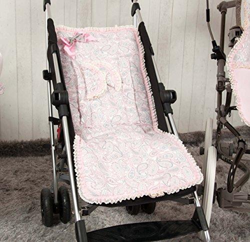 9e2716dde Babyline Caramelo - Colchoneta ligera para silla de paseo, color ...