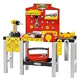 Ecoiffier 2350 Modulare Werkbank Spielzeug, Rot / Grau