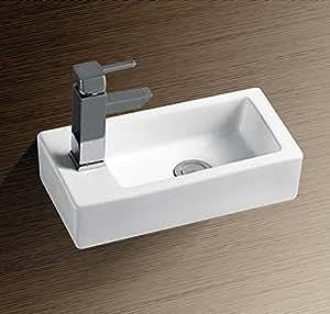 burgtal 17799 design keramik wandmontage waschbecken handwaschbecken bkw 23 baumarkt. Black Bedroom Furniture Sets. Home Design Ideas