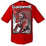Gloryhammer Red Unicorn T-Shirt S