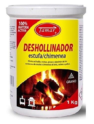Tamar - Deshollinador Especial Estufas / Chimeneas Envase de 1 Kg