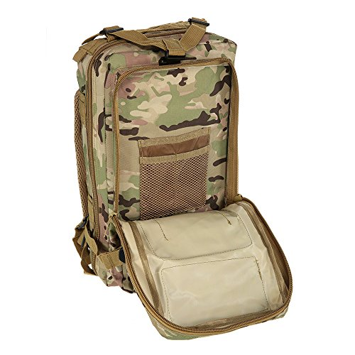 Docooler Sport Outdoor Zaino Tattico Militare Zaini Campeggio Escursionismo Trekking Borsa camuffamento CP