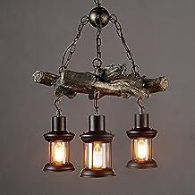 Amazon.it: lampadari rustici