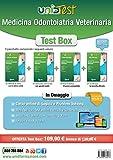 Test box medicina odontoiatria veterinaria: Manuale di teoria-Eserciziario commentato-Prove di verifica-12.000 quiz. Con aggiornamento online. Con app. Con e-book. Con software di simulazione