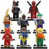 178sy Minifiguras Custom Compatible Marvel Heroes Joker, Aquaman, Wonder Woman, Flash, Catwoman, Ciclope