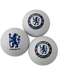 Chelsea FC Golfball Geschenk Set mit Club Wappen