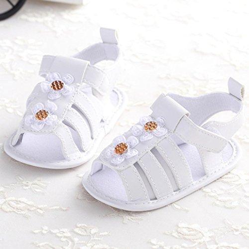 Baby schuhe Jamicy® Baby Schuhe Neugeborenen Sandalen Schuhe rutschfest Sneakers Sommerschuhe für Babys (6~12 Monat, Gelb) Gold