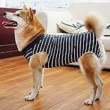 Medical Pet Shirt - Body Atmungsaktiv longlongpet Hund Sommer T-Shirt 2019 Vest Ärmellos Tank Top Haustier-Kostüme für Welpen, Hunde, für große, mittelgroße und kleine Hunde