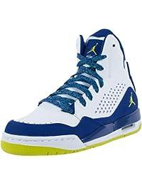 Jordan 332550 800 - Zapatillas de Piel para hombre rojo Size: 40 OR30Wk