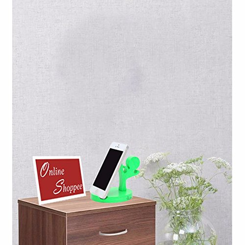 Onlineshoppee® Wooden Mobile Tablet Ipad Stand - Green