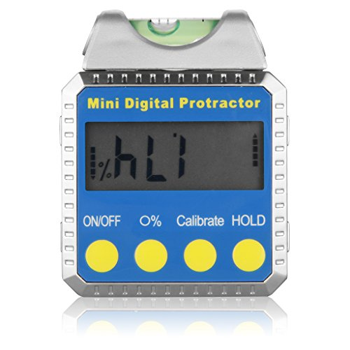 Excelvan® Bevel Box Digital Mini Winkelmesser Horizotal Neigungs- Messgerät LCD Display