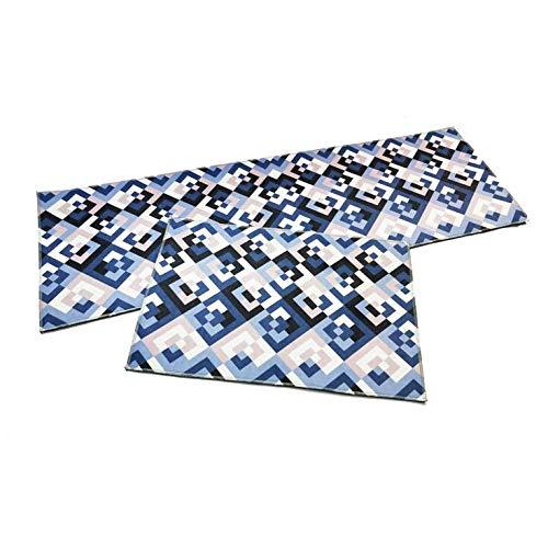MMSM Teppiche Teppiche Küchenmatte Badezimmertürmatte Schlafzimmer Bettdecke Super Weichen Teppich Kann In Der Maschine Gewaschen Werden,T-027-60 * 90CM