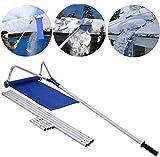 20 Ft Dach Schnee Entfernungswerkzeug, mit Einstellbar Teleskopieren Griff Entlasten Sie Ihr Haus von den starken Schneefällen