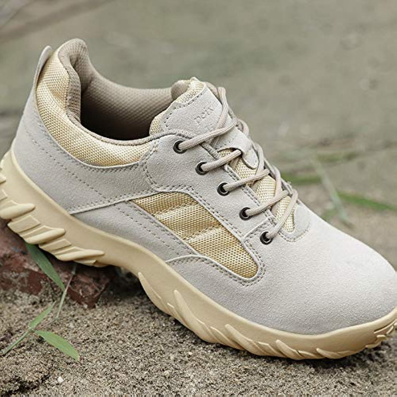 HCBYJ scarpa scarpa scarpa Stivali Tattici marini all'aperto da Combattimento Desert stivali Stivali Militari da Uomo Commando | tender  031304