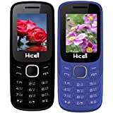 Hicell C9 Metro (Combo Of Two MOBILES) Dual Sim Mobile Phone With Digital Camera And 1.8 Inch Screen (Green+DarkBlue)