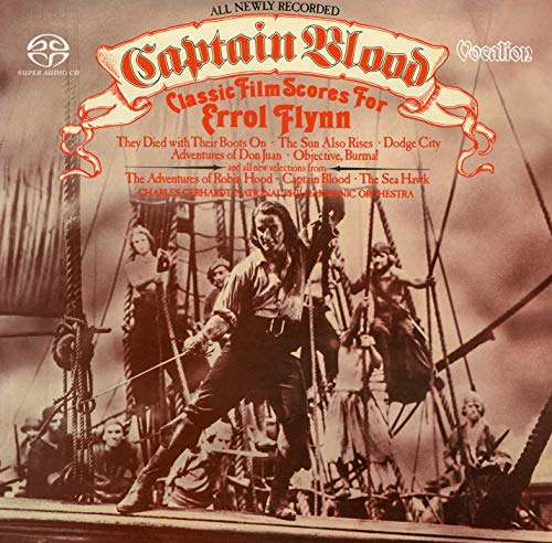 aptain Blood: Classic Film Scores for Errol Flynn [SACD Hybrid Multi-channel] ()