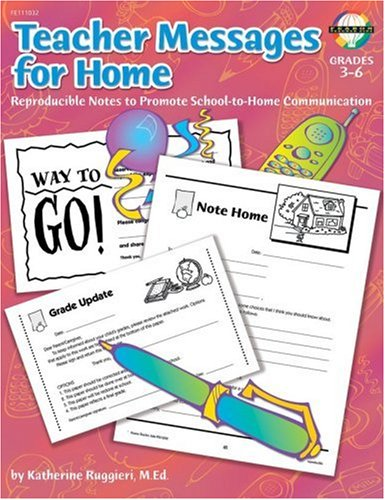 Home, Grades 3 to 6: Reproducible Notes to Promote Communication ()