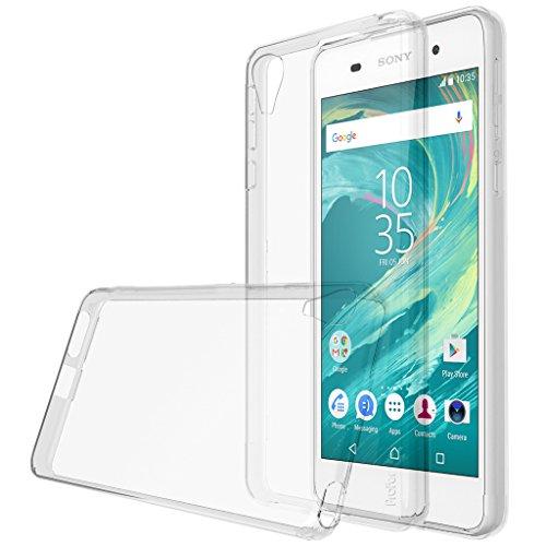 Galleria fotografica Sony Xperia E5, profer TPU Transparent ultra-fine doux Coque de protection en silicone pour Sony Xperia E5 - TPU-durchsichtig
