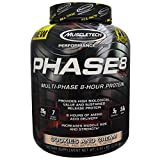 MuscleTech - Phase 8 - Multi-Phase 8 HOUR Protein - Cookies & Cream - 2,02kg (4.46lbs) Bild