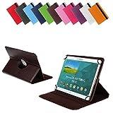 Bralexx Universal Tablet-Tasche für Gigaset QV1030 (26,3 cm (10 Zoll)) braun