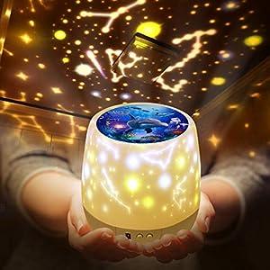 Lámpara Proyector Infantil Estrellas,Lámpara de