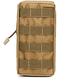 Khaki: Niceeshop(Tm) Tactical Pouches, Water-Resistant Multi-Purpose Molle Tactical Utility Gadget Gear Hanging...