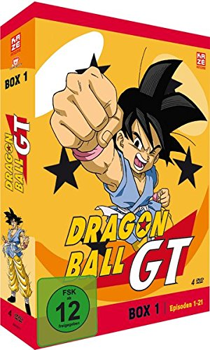 Dragonball GT - Box 1/3 (Episoden 1-21) [4 DVDs]