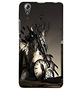 LENOVO A6000 PLUS CLOCK Back Cover by PRINTSWAG