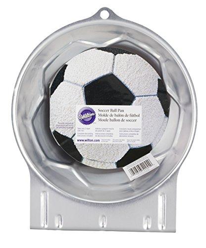Wilton Kuchenform mit Fußball-Motiv, 22 x 9 cm